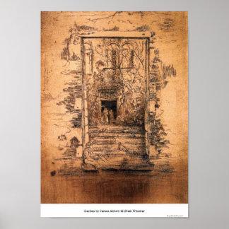Garden by James Abbott McNeill Whistler Posters