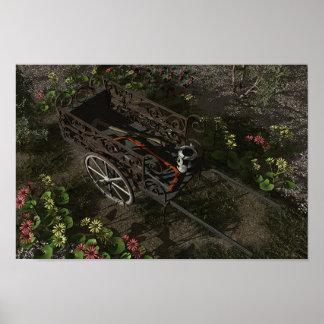 Garden Cart Print