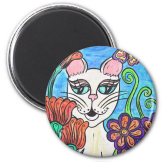 Garden Cat magnet