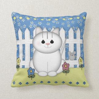 Garden Cat Pillow