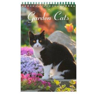 Garden Cats 2016 Calendar
