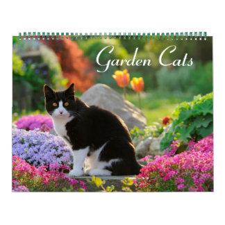 Garden Cats 2017 size large Calendar