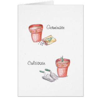 Garden Celebration Card