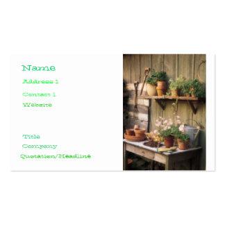Garden Central Business Card