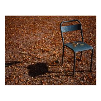 Garden Chair Postcard