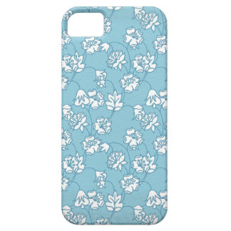 Garden Charm 2:  vintage busy print white bloom iPhone SE/5/5s Case