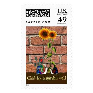 Garden chat postage