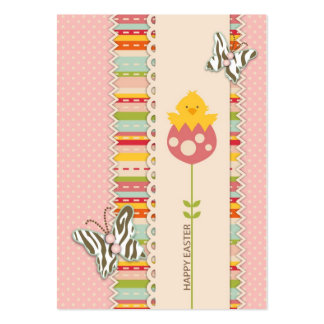 Garden Chick Gift Tag 2 Business Cards