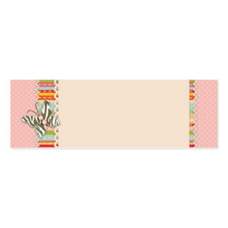 Garden Chick Skinny Gift Tag 2 Business Card