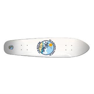 Garden City Beach. Custom Skate Board
