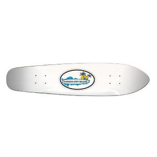 Garden City Beach. Custom Skateboard