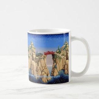 Garden Cliffs, Garden Cliffs, Garden Cliffs, Ga... Coffee Mug