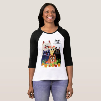 GARDEN CLOWDER of CATS T-Shirt
