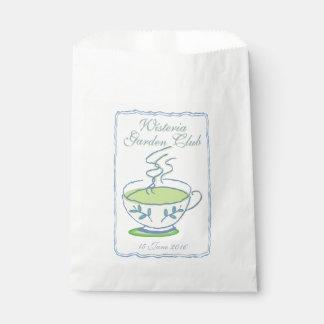 Garden Club Tea Party Favor Bag