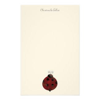 Garden Collection · Ladybug Stationery