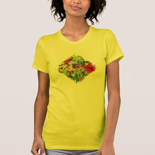 Garden Colors Abstract T-Shirt