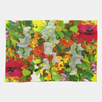 Garden Colors Kitchen Towels