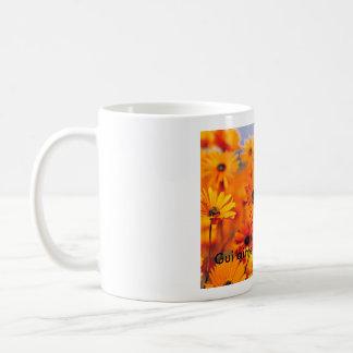 Garden - Copie, Gui aime les fleurs Coffee Mug