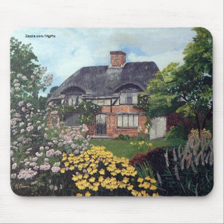 Garden Cottage Mouse Pad