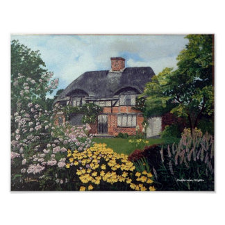 Garden Cottage Posters