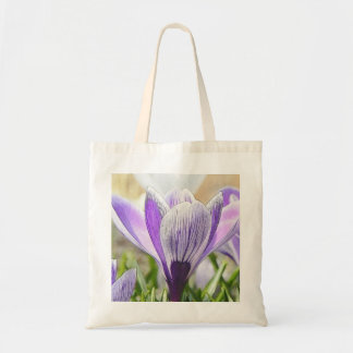 Garden Crocuses Tote Bag