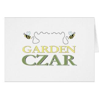 Garden Czar Card