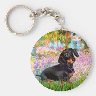 Garden - Dacshund (BT16) Key Chain