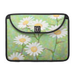 Garden Daisies Bokeh Dots Sleeves For MacBook Pro