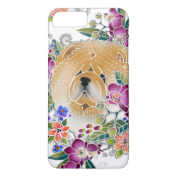 Case-Mate Tough iPhone 7 Plus Case with Chow Chow Phone Cases design