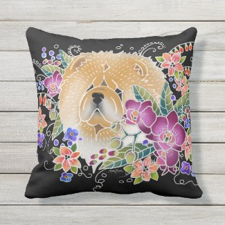 GARDEN DANCE CHOW - Pillow choose indoor/outdoor