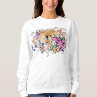 GARDEN DANCE CHOW Sweatshirt -best on  dark/white