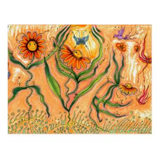 """Garden Dance"" Postcards"