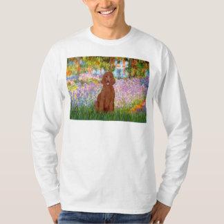 Garden - Dark Red Poodle #1 T-Shirt