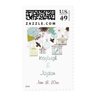 Garden Delight Postage Stamps