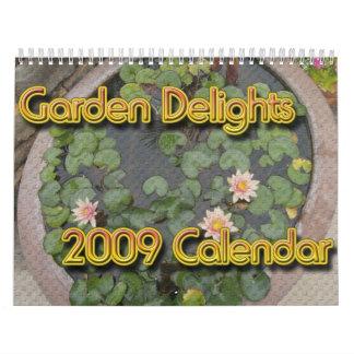 Garden Delights 2009 Calendar