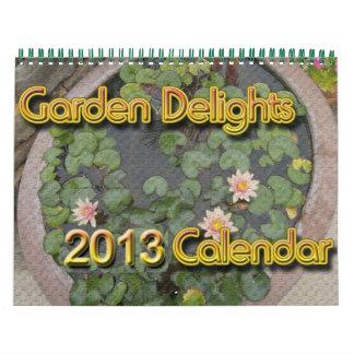 Garden Delights 2013 Calendar