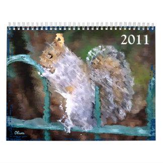 Garden Delights II - 2011 Calendar