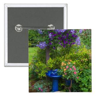 Garden designs in our Garden Sammamish, 2 Pinback Button