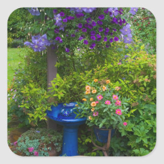 Garden designs in our Garden Sammamish, 2 Square Sticker