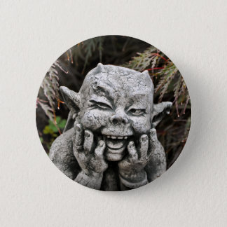Garden Devil Pinback Button
