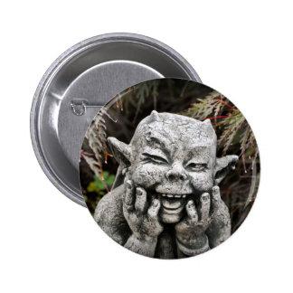 Garden Devil Pinback Button