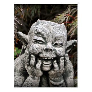 Garden Devil Postcard