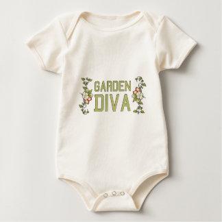 Garden Diva Baby Bodysuit