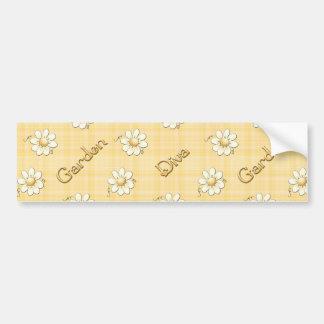 Garden Diva Bumper Sticker