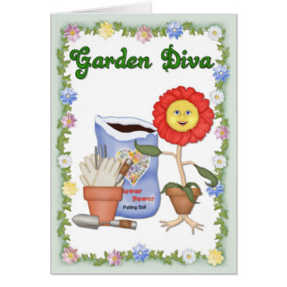 Garden Diva Card