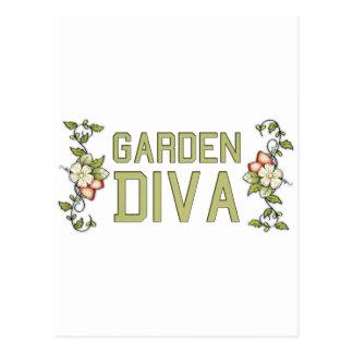 Garden Diva Postcard