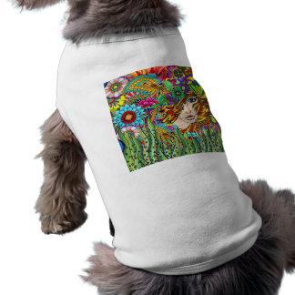 Garden dog coat shirt