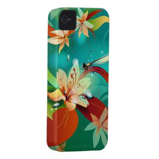 Garden Dragonflies iPhone 4 Case