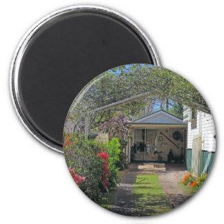 garden driveway fridge magnet