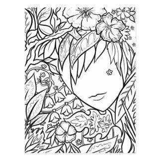Garden Dryad Postcard